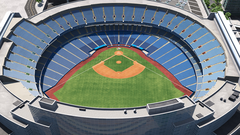 Toronto Blue Jays Virtual Venue By Iomedia